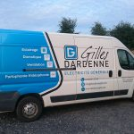 Camionnette GILLES DARDENNE